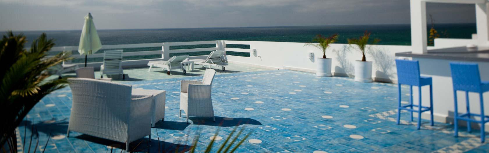 Terrasse avec vue sur la mer Moulay-Bousselham | Vilabea